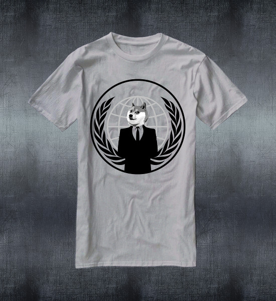 Anonymous Doge T-Shirt