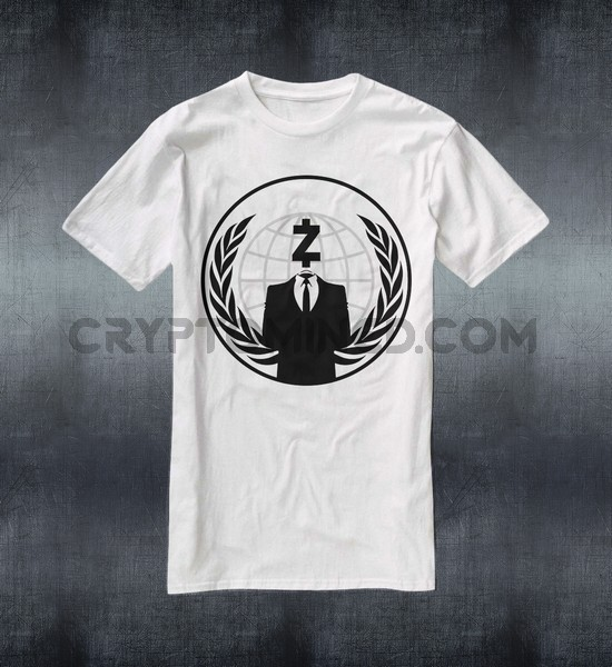 Anonymous ZCash T-Shirt