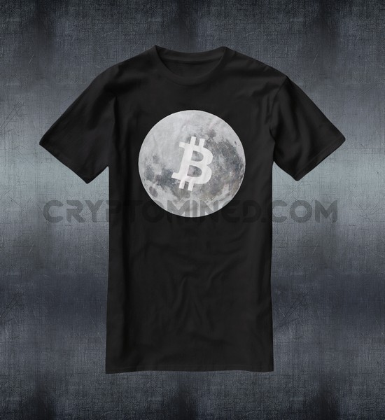 Bitcoin Moon T-Shirt