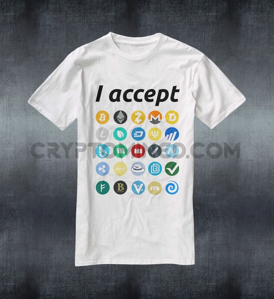 I Accept Crypto T-Shirt