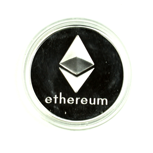 Ethereum Silver Novelty Coin
