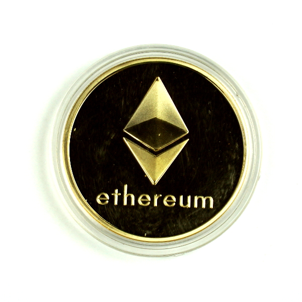 Ethereum Gold Novelty Coin