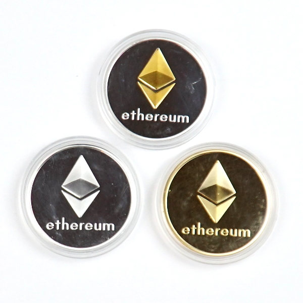 Ethereum Set of 3 Coins