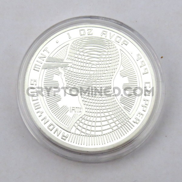 Novelty Silver IAMI Bitcoin