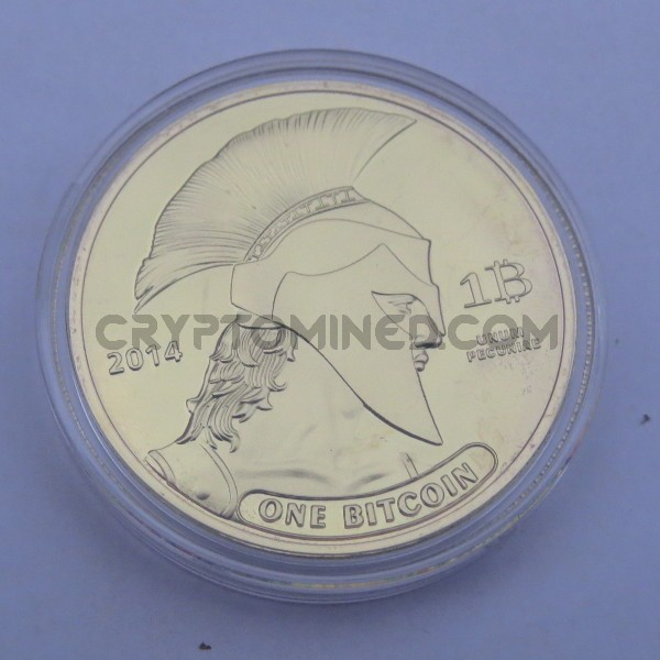 Novelty Titan Gold Bitcoin