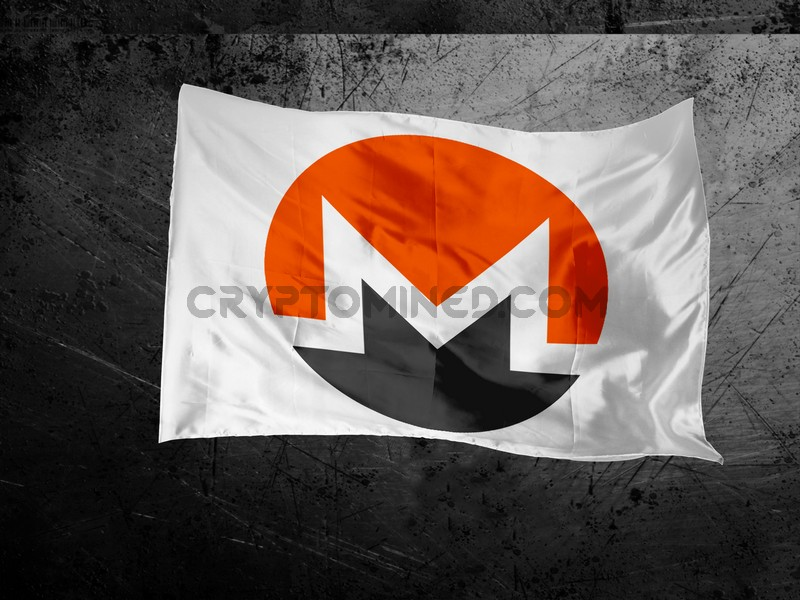 Monero Logo Flag