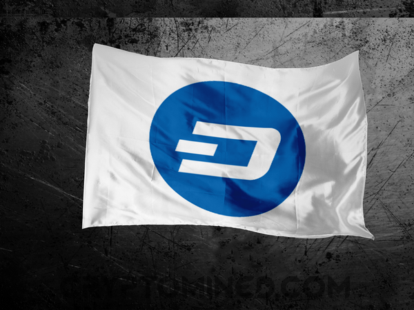Dash Logo Flag