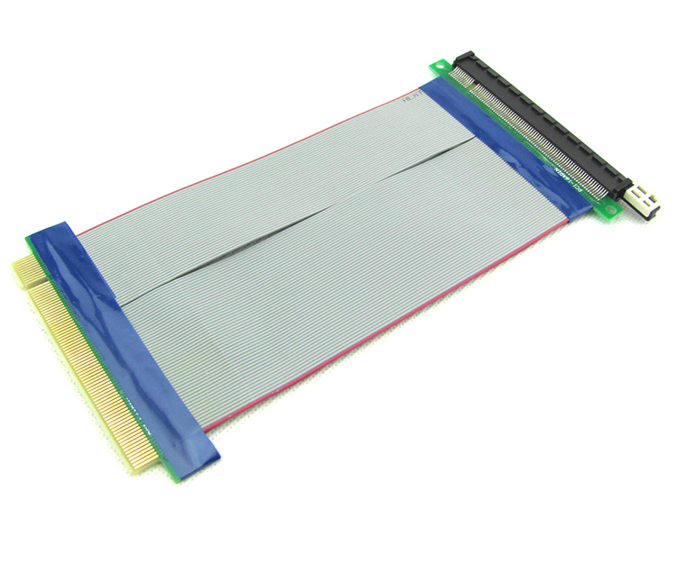 PCI-E 16x to 16x Ribbon Riser