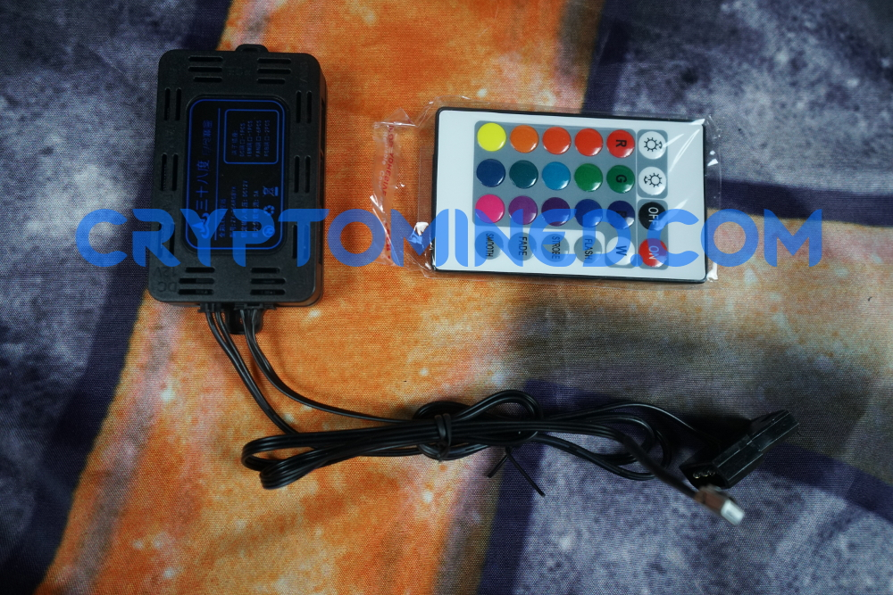 LED RGB Fan Controller & Remote