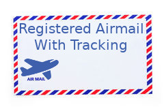 Registered AIrmail With Tracking
